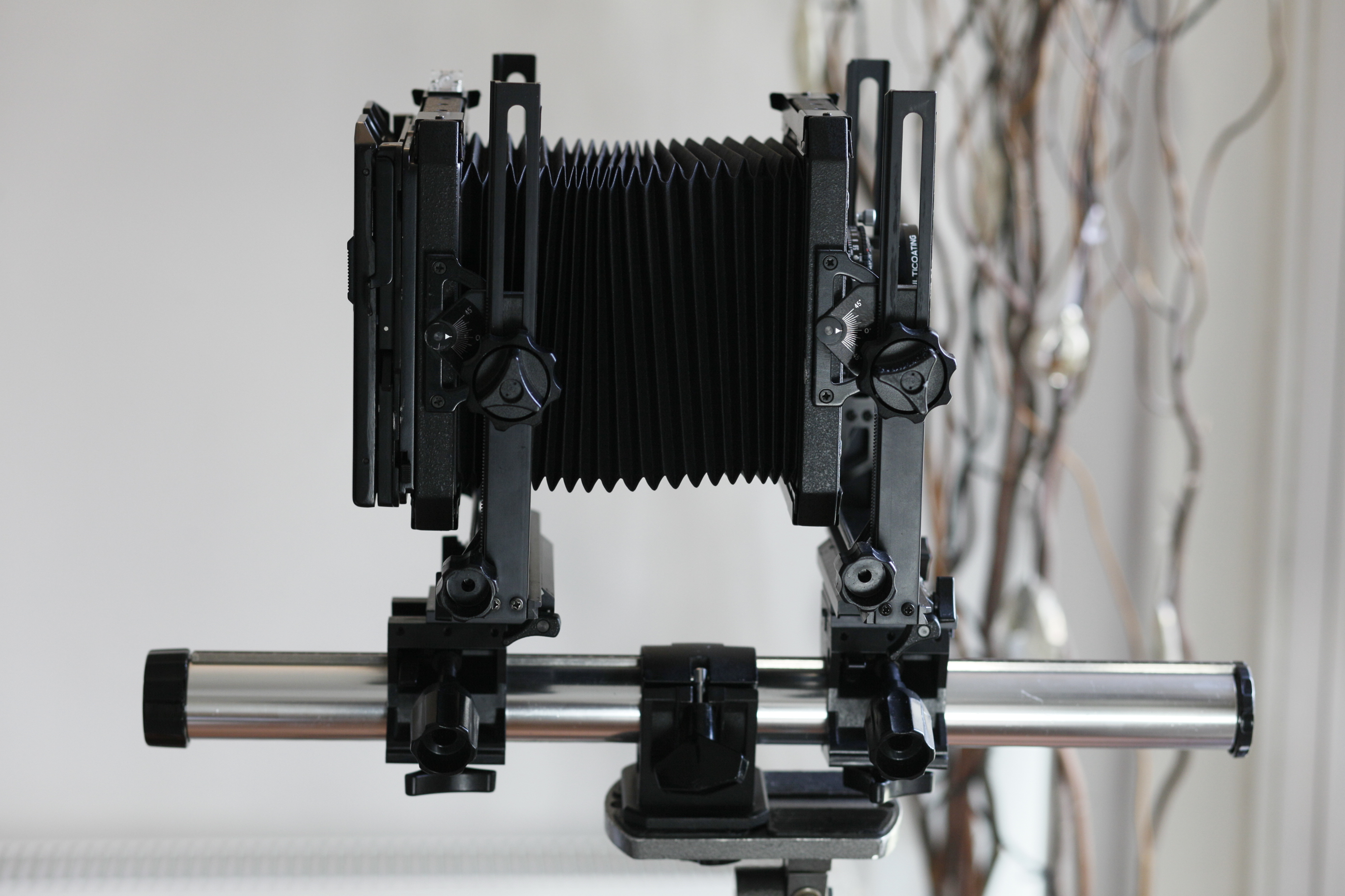 How to Load a Large Format Film Holder.