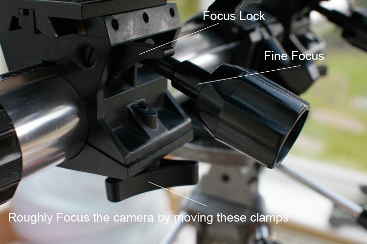 Large Format Camera Focusing