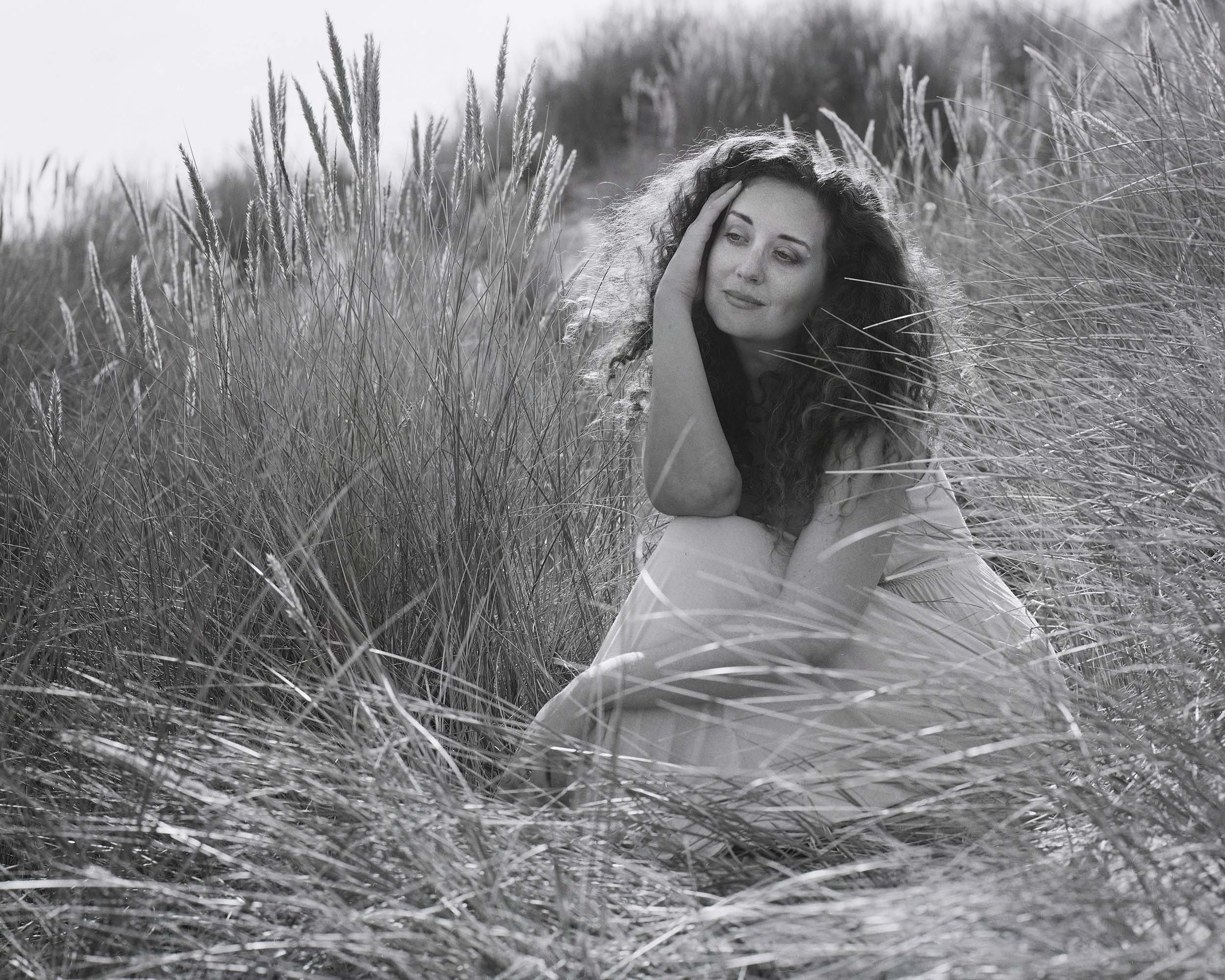 Portraits on the Beach with a Large Format Camera